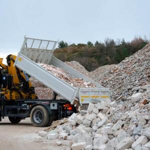 val smaltimento inerti edili terra e rocce - scarico inerti edili del cliente